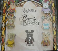 Disney Vinylmation Beauty and the Beast Booster Set - New on Card- Pin# 99154