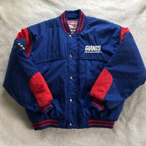 New York Giants Jacket Large Vintage Coat Nutmeg Mills By Campri Classic NFC