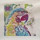 Perroquet Forests Oiseau Panneau En Tissu Faire Un Coussin Tapisserie