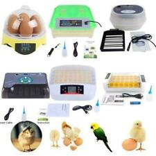 7/9/24/32/36/48/56/60/72/ 96/112 Egg Incubator Hatcher Bird Chicken Duck Turning