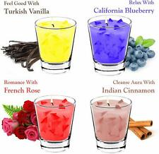 Scented Assorted 4 Aroma Candles For Bedroom Home Bathroom Gifting Occasion