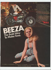 Bsa Beeza 650cc Lightning 1969 Ad - classic motorcycle vintage motorcycles