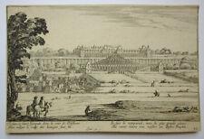Israel Silvestre  Saint Germain en Laye 1655 Radierung Faucheux 292/6