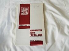 NORTHAMPTON TOWN FOOTBALL CLUB 1967-68 No 390
