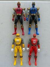 Power Rangers Ninja Storm & Ninja Flash Figures 2002 Pr
