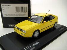 VW VOLKSWAGEN CORRADO G60 1990 NUGGET YELLOW MINICHAMPS 400055602 1/43 GELB