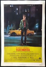 """Taxi Driver 1976 Original Movie Poster One Sheet Linen Backed (27"""" x 41"""")"""