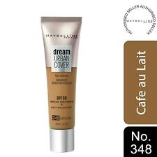 Maybelline Dream Urban Cover SPF50 All-In-One Protective Makeup, 348 CafeAuLait
