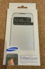 SAMSUNG GALAXY S4 MINI S VIEW MOBILE PHONE COVER CASE WHITE SEALED GENUINE