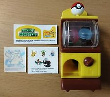 TAKARA TOMY POKEMON XY MOVIE 17th Ver Mini Gashapon Gacha Machine no.25 Pikachu