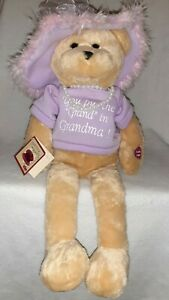"Chantilly Lane Musical Bear Pearl's Grandma 19"" Sings ""I say a little prayer """