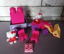 Mega bloks Hello Kitty tracteur remorque chaises 2 hello kitty