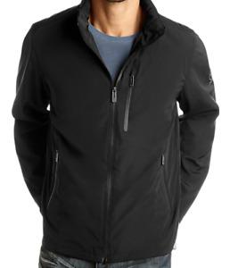 Men's T-Tech by TUMI MD Black Lightweight Packable Waterproof Windbreaker Jacket