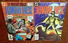 Jonah Hex #88 & #89, (1984, DC): Free Shipping!