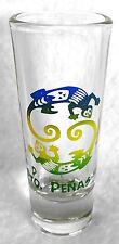"Pto Penas Tall Shot Glass with Gecko 4-1/8"""