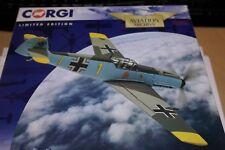 CORGI AVIATION 1:72 MESSERSCHMITT BF109 E-4 YELLOW 1 CAFFIERS FRANCE 1940