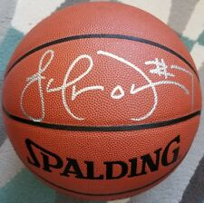 Lamar Odom Signed SpaldingBasketball - Lakers - Clippers - ROOKIE Autograph