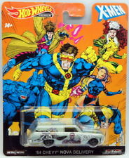 2019 Hot Wheels Premium X-Men Complete 5-Car Set