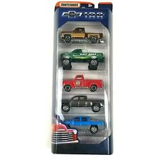 Matchbox 100 Years Chevrolet Trucks Diecast Toy Vehicles 5-Pack Chevy Gm Mb