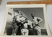 Original WWII 1950s Photo USAAF Air Force Corps Plane Fighter Aircraft Pilot 3