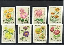 Stamps of Vietnam 1978 # 999-1006 MNH FLOWERS IMPERF