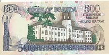 Uganda - 500 shillings 1991 UNC-pick 33b