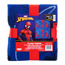 """Marvel SPIDER-MAN Plush Throw Blanket 40"""" x 50"""" Soft & Cozy Blue and Red New"""