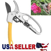 Garden Pruning Shears Pruner Ratchet Scissors Branch Cutter Trimmer Home Tools
