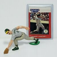 CARNEY LANSFORD - Oakland A's MLB Kenner Starting Lineup SLU 1988 Figure & Card