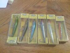6 Old Storm Fishing Lures in Boxs,  Lot 2
