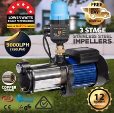 CENTAURUS Multi Stage Water Pump High Pressure Rain Tank Auto Garden Irrigation