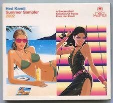 [BEE GEES COVER] HED KANDI SUMMER SAMPLER 2002 ~ UK 15-TRACK CD ALBUM [DIGIPAK]
