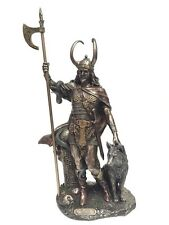 Loki Norse God Statue Sculpture Trickster Archenemy of Thor - WE SHIP WORLDWIDE