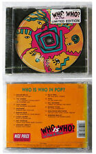 Who is Who in pop? Cock Robin, Toto,... 1993 Sony Limited Edition CD OVP/SEALED