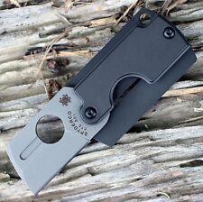 Couteau Spyderco Dog Tag Gen4 Folder Lame CTS BD1 Manche Aluminium SC188ALP
