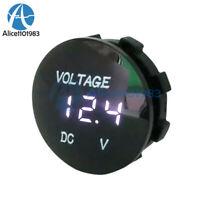 Digital DC12V-24V LED Panel Voltage Volt Meter Display Voltmeter Motorcycle Car