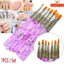Beauty4Less Nail Art Pen UV Gel Acrylic Painting Drawing Pen Polish Brush 7 Pcs