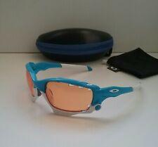 OAKLEY JAWBONE SKY BLUE w/ Vented Persimmon NPI Sunglasses racing flight jacket