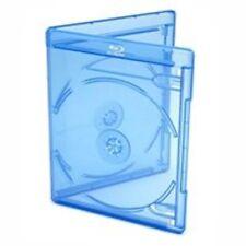 Viva Elite Blu-Ray Cases for 2 Discs, 6 mm – Pack of 100 – Blue