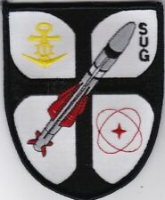 German navy Submarine-launched ballistic missile SUG patch