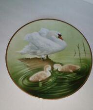 Waterbird Plate by Danbury Mute Swan by Eric Tenney