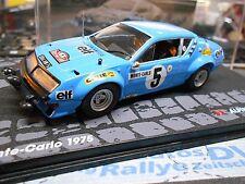 RENAULT Alpine A310 Rallye Monte Carlo 1975 #5 Therier Vial elf IXO Alta SP 1:43