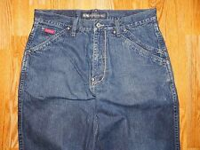DRUNKNMUNKY CARPENTER BLUE JEANS MEN'S SIZE 34 X 33 1/2 - GREAT!
