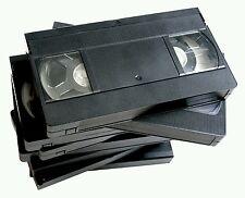 ECCEZIONALE LOTTO DI 300 VHS MISTE USATE SOVRASCRIVIBILI ( NON VERGINI )