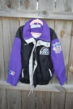 Vintage 90s Columbia Colorado Rockies Mlb Baseball Windbreaker Jacket Coat