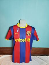 Olympus Barcelona Fc Home Jersey Men's Size Small S Unicef Soccer Football
