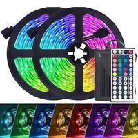 10m LED Band Streifen RGB Stripe Leiste Licht 5050 SMD Lichtschlauch Dimmbar