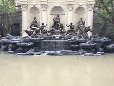 THE BEST BRONZE AND MARBLE EQUESTRIAN ESTATE INCREDIBLE ESTATE FOUNTAIN - TBF56