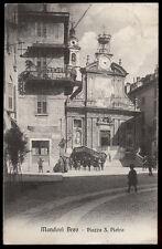 cartolina MONDOVI' BREO piazza s.pietro