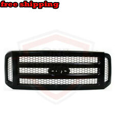 New Black Frame Grille W/ Black Insert For 05-07 Ford F-250 Super Duty FO1200457